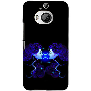 ifasho zodiac sign gemini Back Case Cover for HTC ONE M9 Plus