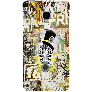 ifasho Animated Pattern of zebra Print Back Case Cover for Le TV Max