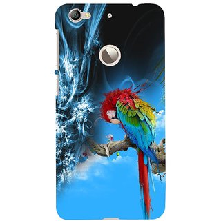 ifasho Parrot In Animation Back Case Cover for LeTV 1S