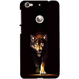 ifasho Angry Wolf Back Case Cover for LeTV 1S
