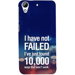 ifasho quotes on success Back Case Cover for HTC Desire 728