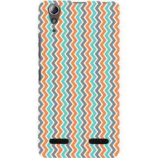 ifasho Animated Pattern of Chevron Arrows  Back Case Cover for Lenovo A6000 Plus