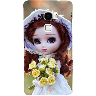 ifasho Girl with flower in hand Back Case Cover for Le TV Max