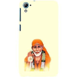 ifasho Shirdi wale Sai Baba Back Case Cover for HTC Desire 828