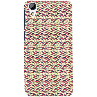 ifasho Modern Art Design Pattern Lot of fish Back Case Cover for HTC Desire 728