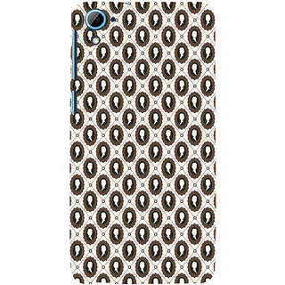 ifasho Animated  Royal design with Queen head pattern Back Case Cover for HTC Desire 826
