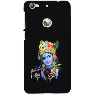 ifasho Lord Krishna with Flute Back Case Cover for LeTV 1S