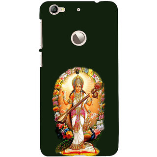 ifasho Goddess Saraswati  Back Case Cover for LeTV 1S