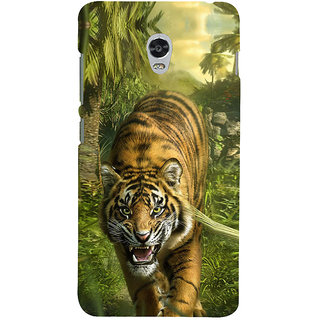ifasho Angry Tiger  Back Case Cover for Lenovo Vibe P1