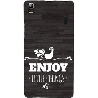 ifasho enjoy little things Back Case Cover for Lenovo A7000