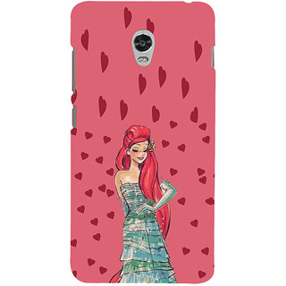 ifasho Cute Girl animated Back Case Cover for Lenovo Vibe P1