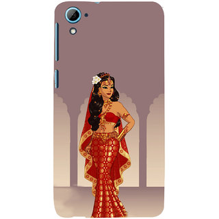 ifasho Draupadi Mahabharat Back Case Cover for HTC Desire 826