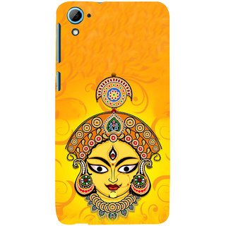 ifasho Godess Durga head Back Case Cover for HTC Desire 826