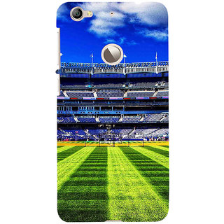 ifasho Football stadium field Baseball field Back Case Cover for LeTV 1S