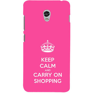 ifasho Nice Quote On Keep Calm Back Case Cover for Lenovo Vibe P1