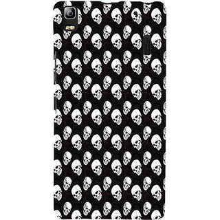 ifasho Modern  Design skeleton Pattern Back Case Cover for Lenovo A7000