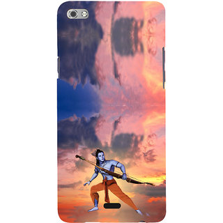 ifasho Lord Rama Back Case Cover for Micromax Canvas Sliver 5 Q450