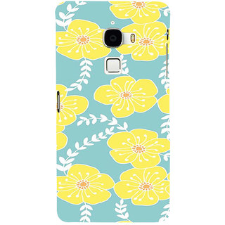 ifasho Animated Pattern flower with leaves Back Case Cover for Le TV Max