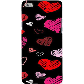 ifasho Animated Pattern With Love Back Case Cover for Micromax Canvas Sliver 5 Q450