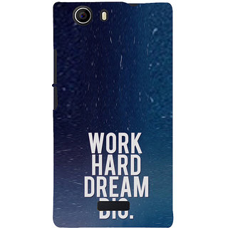 ifasho Life quote Back Case Cover for Micromax Canvas Nitro 2 E311