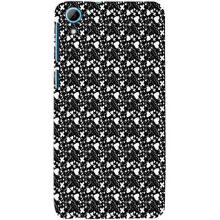 ifasho Modern Art Design Pattern with Lot Of small heart with + sign Back Case Cover for HTC Desire 828