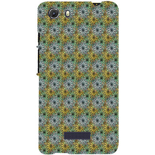 ifasho Animated Pattern design many small flowers  Back Case Cover for Micromax Unite3 Q372