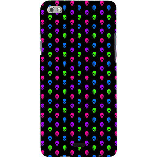 ifasho Modern  Design colourful skeleton Pattern Back Case Cover for Micromax Canvas Sliver 5 Q450