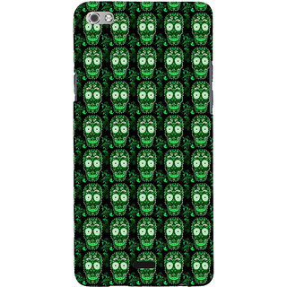 ifasho Modern  Design animated skeleton Pattern Back Case Cover for Micromax Canvas Sliver 5 Q450