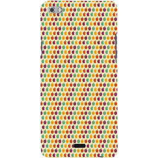 ifasho Animated Pattern design many small  Back Case Cover for cromax Canvas Sliver 5 Q450