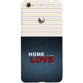 ifasho Home is where love is quote Back Case Cover for LeTV 1S