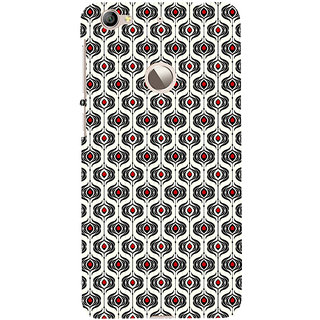 ifasho Modern Theme of royal design in black and white pattern Back Case Cover for LeTV 1S
