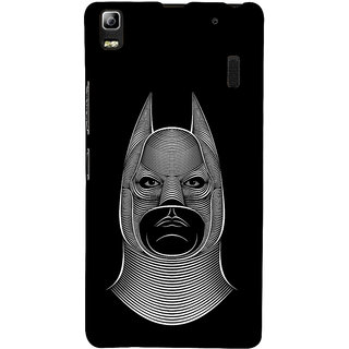 ifasho Animated man face cartoon with horn Back Case Cover for Lenovo A7000