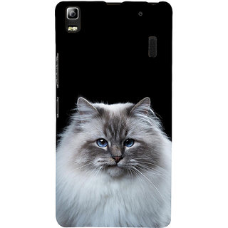 ifasho Innocent Cat with brown Eyes Back Case Cover for Lenovo A7000