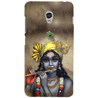 ifasho Lord Krishna with Flute Back Case Cover for Lenovo Vibe P1