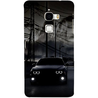 ifasho Black Car Back Case Cover for Le TV Max