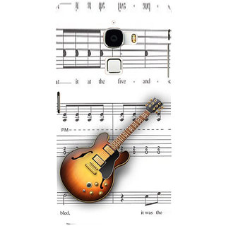 ifasho Modern Art Design Pattern Music Ins3Dument Guitar Back Case Cover for Le TV Max