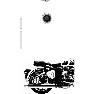 ifasho Royal Bike Back Case Cover for MOTO E