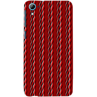 ifasho Design lines pattern Back Case Cover for HTC Desire 828