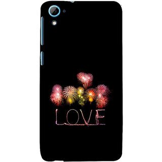 ifasho Love Back Case Cover for HTC Desire 828
