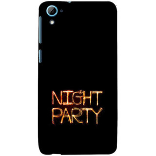 ifasho Night party Back Case Cover for HTC Desire 828
