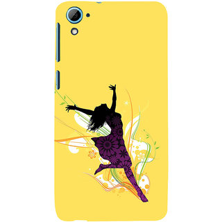 ifasho Dancing girl Back Case Cover for HTC Desire 828