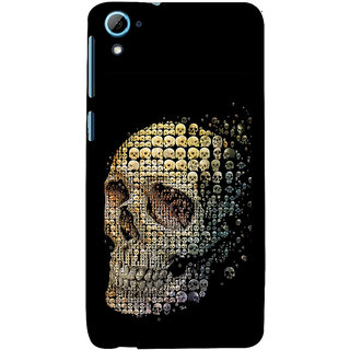 ifasho Modern  Design animated skeleton Back Case Cover for HTC Desire 828