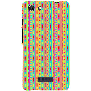 ifasho Animated Pattern colrful 3Daditional design Back Case Cover for Micromax Unite3 Q372