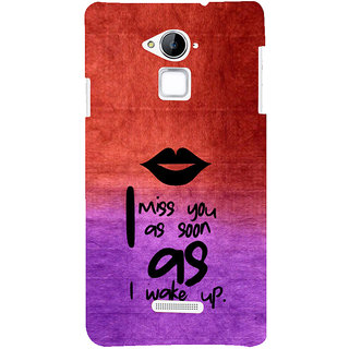 ifasho Love in Heart Back Case Cover for Coolpad Note 3