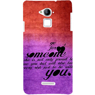 ifasho Love Quote Back Case Cover for Coolpad Note 3