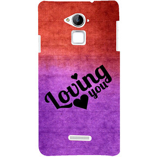 ifasho Loving you Back Case Cover for Coolpad Note 3