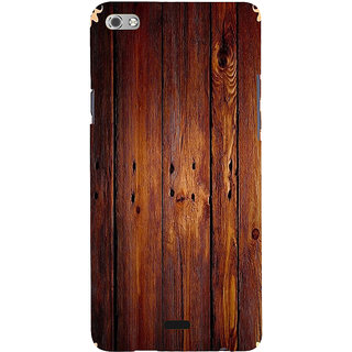 ifasho Animated Royal Pattern with Wooden back ground Back Case Cover for Micromax Canvas Sliver 5 Q450