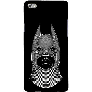 ifasho Animated man face cartoon with horn Back Case Cover for Micromax Canvas Sliver 5 Q450