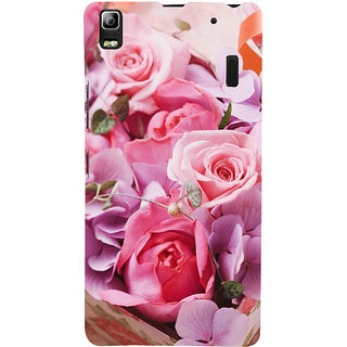 ifasho Red Rose Back Case Cover for Lenovo A7000