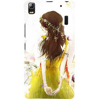 ifasho Princess painting Back Case Cover for Lenovo A7000